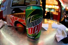 Mt Dew... so much amazingness in one can!