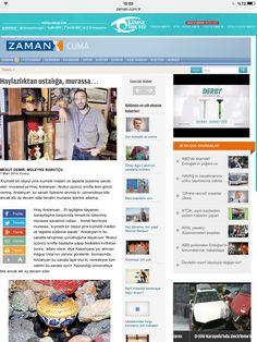 Zaman Gazetesi www.mahrecsanatevi.com