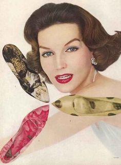 Shoes - Vogue 1957