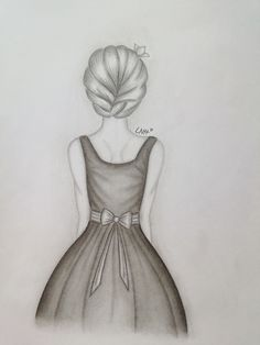 sketch a day Disney Drawings Sketches, Girl Drawing Sketches, Girly Drawings, Art Drawings Sketches Simple, Pencil Art Drawings, Girl Sketch, Art Inspiration Drawing, Decor Inspiration, Art Drawings Beautiful