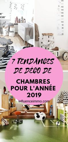 Grand 7 Tendances 2019 Dans La Décoration Des Chambres Du0027enfants