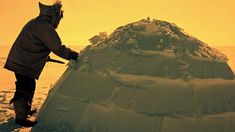 This classic short film shows how to make an igloo using only snow and a knife. Two Inuit men in Canada's Far North choose the site, cut and ...