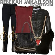 The Vampire Diaries Outfit - I like the outfit, not what it's from