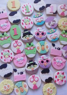 Cookies decoradas de La granja de Zenón Pasta Ballina, Cata, Legos, Cookie Decorating, Cookies, Desserts, Food, Templates, Animal Crackers