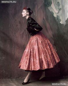 Макси юбка в стиле винтаж
