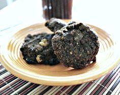 Chunky Double Chocolate Quinoa Cookies