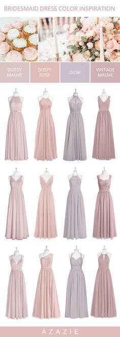 Shop for affordable tulle lace and chiffon bridesmaid dresses include all styles & colors such as dusty blue dusty rose mauve glitter rose gold burgundy & dusty sage. Pink Bridesmaid Dresses Short, Bridesmaid Dress Colors, Azazie Bridesmaid Dresses, Affordable Bridesmaid Dresses, Burgundy Bridesmaid, Bridesmaid Makeup, Dusty Rose Dress, Dusty Rose Color, Purple Rose