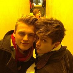 Tristan and Connor