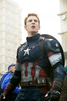 Captain Confusion | literally makes this face in every movie.
