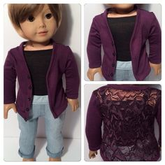 American Girl Maplelea or 18 doll clothes   by QTpiedollclothing