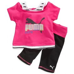 Baby Girl Clothes at Macy's - Baby Girl Clothing and Clothes for Baby... ($18) via Polyvore