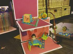 Look at this Pet Daycare designed with Roominate! How creative! Pet Daycare, Daycare Design, Toy Chest, Storage Chest, Make It Yourself, Pets, Creative, Happy, How To Make
