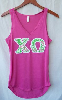 Sorority Greek V-Neck Letter Shirt Lilly Pulitzer 8f869c4G