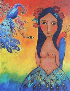 Art Brut and Outsider Art: The seductive colors of Helga Hornung