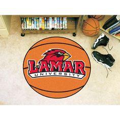 Lamar Cardinals NCAA Basketball Round Floor Mat (29)