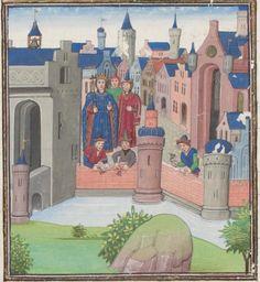 Genève, Bibliothèque de Genève, Ms. fr. 64: Jean Mansel, La fleur des histoires · vers 1480 Langue:Français      . http://www.e-codices.unifr.ch/fr/list/one/bge/fr0064