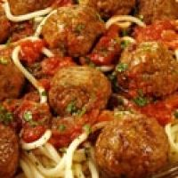 This is an authentic Italian spaghetti sauce with meat balls recipe given to me by an Italian friend. It is cooked slowly during 6 to 8 hours but the result is well worth the time and effort.