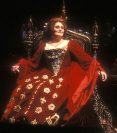 "Dame Joan Sutherland as Anne Boleyn in ""Anna Bolena"" (1984)"