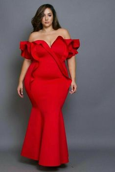 We are not sure if need to try out the plus size gowns on […] Plus Size Evening Gown, Red Evening Gowns, Plus Size Gowns, Plus Size Outfits, Plus Size Red Dress, Plus Size Fashion For Women, Plus Size Womens Clothing, Size Clothing, Xl Mode