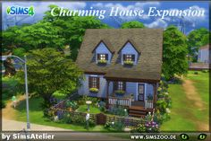 Charming House Expansion see on www.simszoo.de