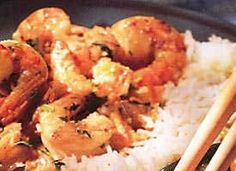 Wheat Free - Wheat Free Recipes - Spicy Garlic Shrimp