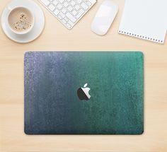 "The Vivid Emerald Green Sponge Texture Skin Kit for the 12"" Apple MacBook from DesignSkinz"