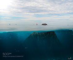 Below Bird Rock by ThomasBrownPhotography