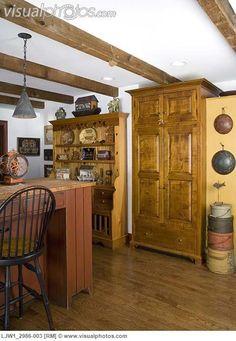 A Primitive Colonial Kitchen.