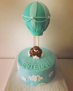 Gateau ourson montgolfière Birthday Cake, Desserts, Food, Tailgate Desserts, Birthday Cakes, Deserts, Essen, Dessert, Yemek
