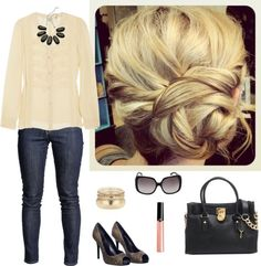 """""""Lunch Date Outfit.."""" by maria-garza on Polyvore"""