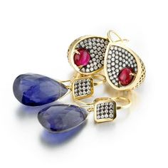 Ray Griffiths fine jewelery earrings.