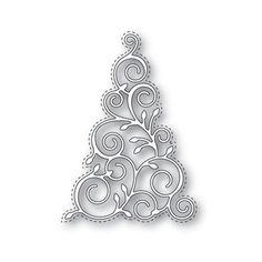 Simon Says Stamp CHRISTMAS TREE Wafer Die s331 Create Joy