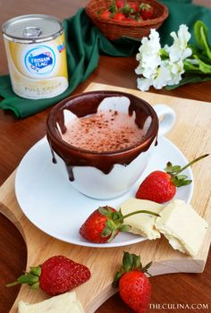 Need companion for your day?  Then, this HOT STRAWBERRY CHOCOLATE will be perfect.  Read more about the recipe in the blog.
