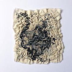 """Luz y Sombra"". ⠀ Técnica: Bordado a mano. Materiales: Crea algodón. Hilos de poliéster y algodón. Medidas: 30 x 37 cm Año: 2017. #arte… Textiles, Throw Pillows, Light And Shadow, Hand Embroidery, Artists, Art, Cushions, Decorative Pillows, Decor Pillows"