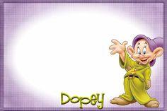 Dopey (Snow White & The Seven Dwarfs) @psramirez start making the girls autograph book now