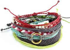 Puravida bracelets: Every bracelet purchased helps provide full time jobs for local artisans in Costa Rica! Secret Garden Pack