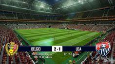 BELGIO - USA 2-1 - MONDIALI BRASILE 2014 - 1-7-2014