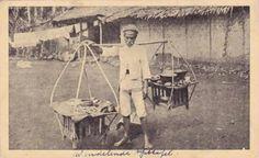 Potret penjual nasi, Bogor