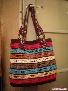 l 400 × 533 pixels Crochet Quilt, Crochet Tote, Crochet Handbags, Crochet Purses, Crochet Yarn, Crotchet Bags, Knitted Bags, Handmade Handbags, Handmade Bags