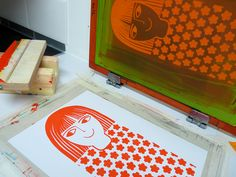 Screen Printing | Artistic Illustration