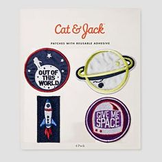 Kids' Patches Cat & Jack™ - Science