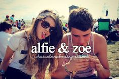 their relationship...so cute, but their not dating....but I ship it!!! Zalfie!!! <3<3