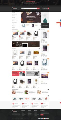 A professional and powerful WooCommerce Wordpress shopping theme for WordPress built with Bootstrap and powered by Visual Composer.