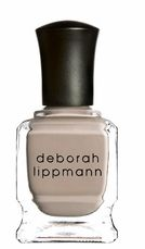 I am loving Deborah Lippmann polishes. The shades are all so fresh and my favorite lately has been this one called Fashion-a very neutral shade that flatters all skin tones!
