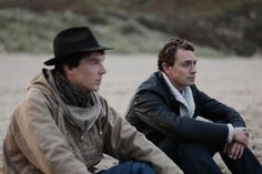 Still of JJ Feild and Benedict Cumberbatch in Third Star - this was a traumatically sad movie, but so well acted. Scenes like this with JJ and Benedict were worth the sadness.