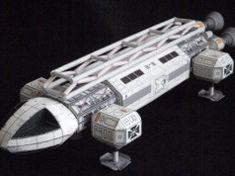 Space: 1999 - Eagle Transporter Ver.2 Free Papercraft Download