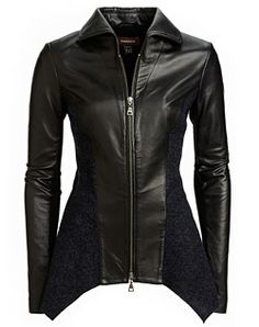 Danier, leather fashion and design.  Style # 110050015