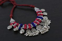 Tribal Boho Shiva Necklace