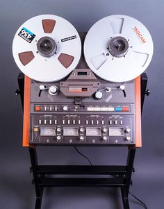 Tascam 34B reel to reel recorder photo submitted by others to the MOMSR.org and Reel2ReelTexas.com vintage recording collection