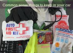 Common Sense Things to Keep in Your Car